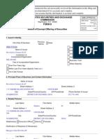 Revolution Ventures SEC Form D 6/28/2013