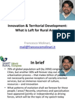 Innovation and Territorial Development