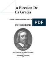 BOEHME-De La Eleccion de La Gracia