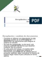 recopilacionyanalisisdedocumentos-110330142606-phpapp01