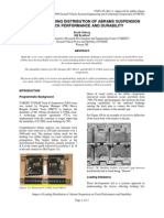 Impact of Loading Distribution of Abrams Suspension on Track Performance and Durability