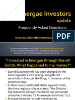 Updates for Darrell Duane Smith investors in Energae and iLenders
