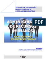 Apostila de Administração de Recursos Humanos