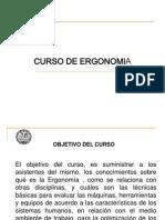 Curso Ergonomía - 2009 - Para exponer - Diciembre