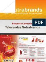 Proposta Comercial Televendas Nutrabrands