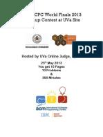 ACM-ICPC Practice Contest