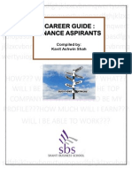 Career Guide for Finance Aspirants