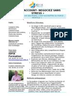 Comptes Clés- Négociez sans Stress - formation commerciale