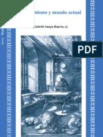 Cristianismo y Mundo Actual - Gabriel Anaya Duarte