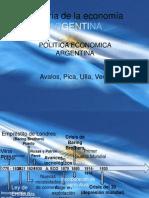 Historia de la economía  ARGENTINA