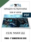 CADERNO DE PRODUÇÕES PARA IMPRESSÃO SEM PÁGINAS