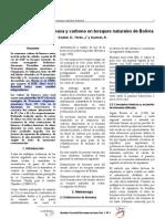 2001_Dauber E. Et Al._estimaciones de Biomasa y Carbono en Bosques Naturales de Bilivia