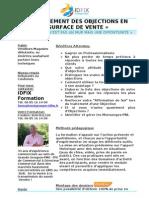 Traitement Des Objections en Surface de Vente.docx