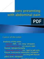 Conditions Presenting With Abdominal Pain (2)