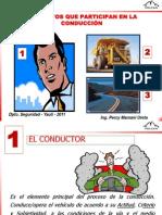 ¿ MANEJO DEFENSIVO... NO. CONDUCCIÓN PREVENTIVA 2