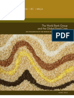 The World Bank Group and the Global Food Crisis 