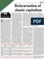 Reincarnation of Islamic Capitalism-Humayon Dar
