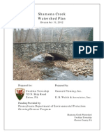 Shamona Creek, Pennsylvania Watershed Study and Improvement Recommendations, 2013.  By Gannett Fleming, Inc. and E.B. Walsh & Associates, Inc.