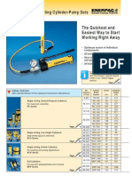 Enerpac Hand Pumps With Jacks