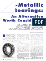 Bearings With Non Metal Materials