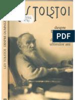 Tolstoi, L. - Despre Dumnezeu Si Om