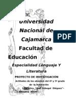 PROYECTO DE INVESTIGACIÓN EDUACTIVA. MARLE