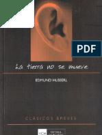 Husserl Edmund La Tierra No Se Mueve OCR