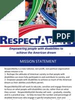 RespectAbility Powerpoint