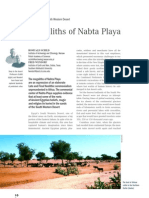 The Megaliths of Nabta Playa