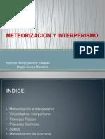 Meteorizacion y Interperismo Geooooo