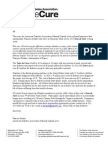 French American Chamber of Commerce Letter