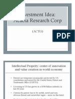 Acacia Research Presentation (1)