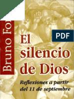 El 'Silencio' de Dios (Sobre El 11 de Setiembre 2001 -Bruno Forte)