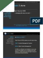 Open Source CMS 2009