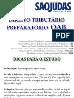 PREPARATÓRIO PARA OAB SÃO JUDAS UNIVERSIDADE