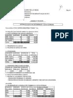 Costos - Practica Predeterminado-Estandard