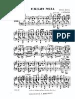 Pizzicato Polka Piano