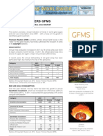 Gold Market Statistics