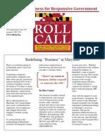 Roll Call 2013 Final