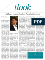 Pasadena Outlook Newspaper Article on Student Planning Services