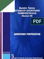 SAP PeraturanPemerintah 2005 No24 BulTekSaP 05 Akuntansi Penyusutan