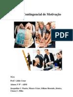 Resumo do grupo - Modelo Contingencial de Motivação