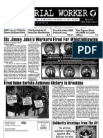 Industrial Worker 2011 Vol. 108, No. 4 (Official Newspaper of the IWW (May, 16 Pp.)