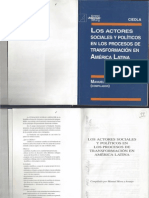 Mora y Araujo 97 Los actores sociales y políticos en los procesos de transformación en América Latina