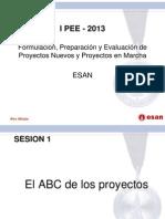 Formulacion y Evaluacion de Proyectos S1 PEE