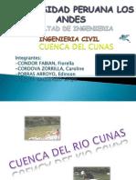 Cuenca Del Rio Cunas
