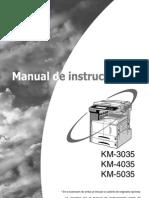 MANUAL KM-3035-4035-5035-OG-ES