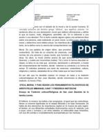 Ensayo de Etica de Profesion - San Juan Bautista 27-06-2011