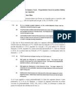 6ª Lista de Exercícios de Química Geral - Propriedades Gerais da matéria-Sólidos, Líquidos e Gases (com respostas)-19.05.2011