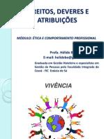 Aula V - Direitos, Deveres e Atribuições Técnico Segurança N.ppt